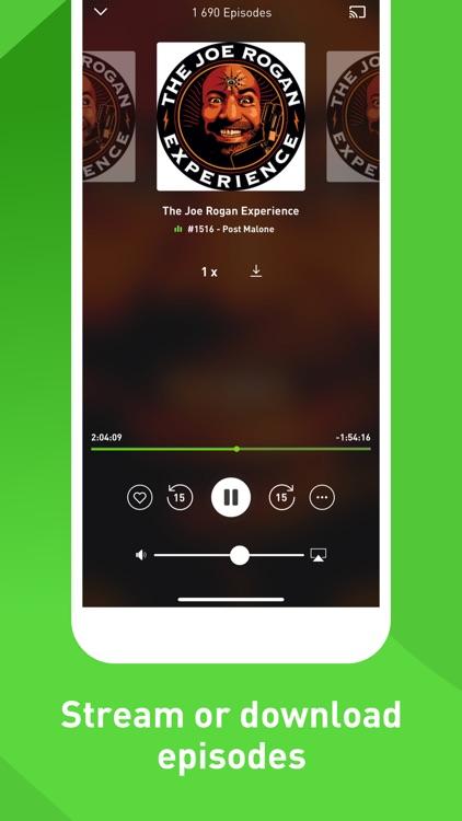 GetPodcast - Podcast Player screenshot-4