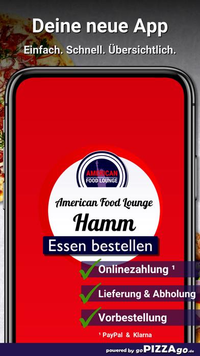 American Food Lounge Hamm screenshot 1