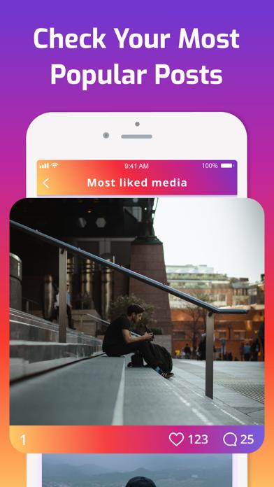 iMetric Analyzer for Instagram Screenshot