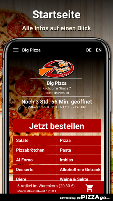 Big Pizza Bruckmühl screenshot 2