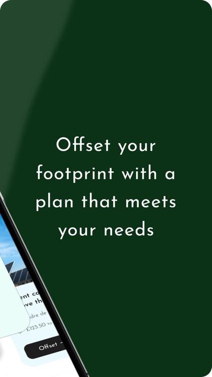 Carbon Footprint & Offsetting screenshot-9
