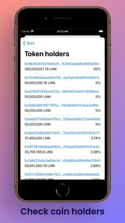 Etherscan Address Tracker screenshot-4