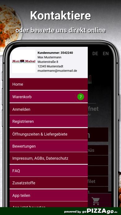 Moti Mahal Frankfurt am Main screenshot 3