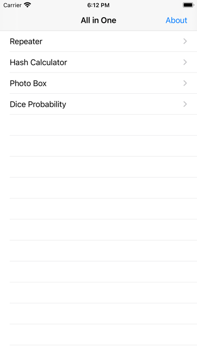 Allinone-toolbox Screenshot