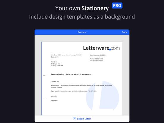 EasyLetter - Écrire une lettre