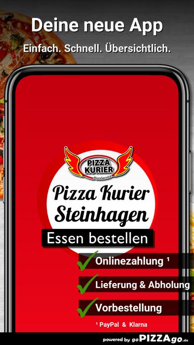 Pizza Kurier Steinhagen Essen screenshot 1
