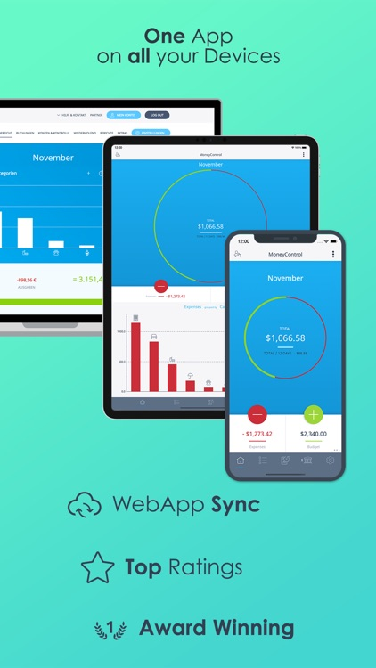MoneyControl Spending Tracker screenshot-8
