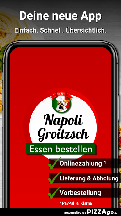 Napoli Pizza-Service Groitzsch screenshot 1