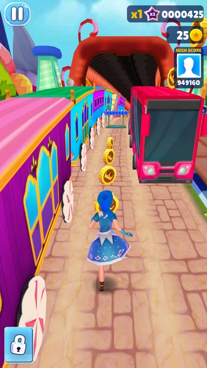 Princess Run 3D -Subway Runner screenshot-4