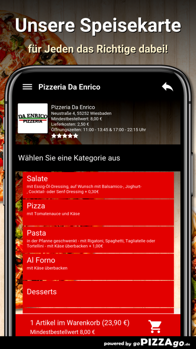 Pizzeria Da Enrico Wiesbaden screenshot 4
