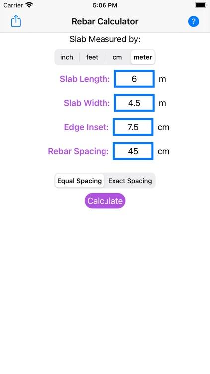 Rebar Grid Calculator screenshot-3