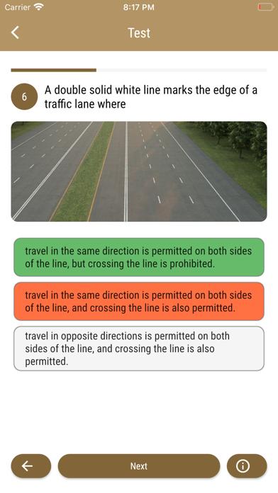 Arkansas DMV Test Preparation screenshot 5