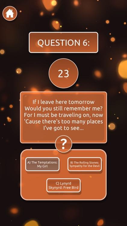Guess The Song Lyric Quiz screenshot-4