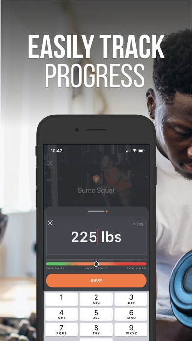 SHRED: Home & Gym Workout Screenshot