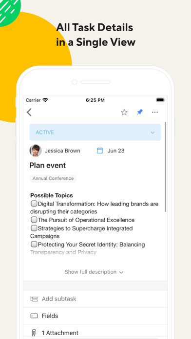 Wrike: Project Management & Collaboration. screenshot