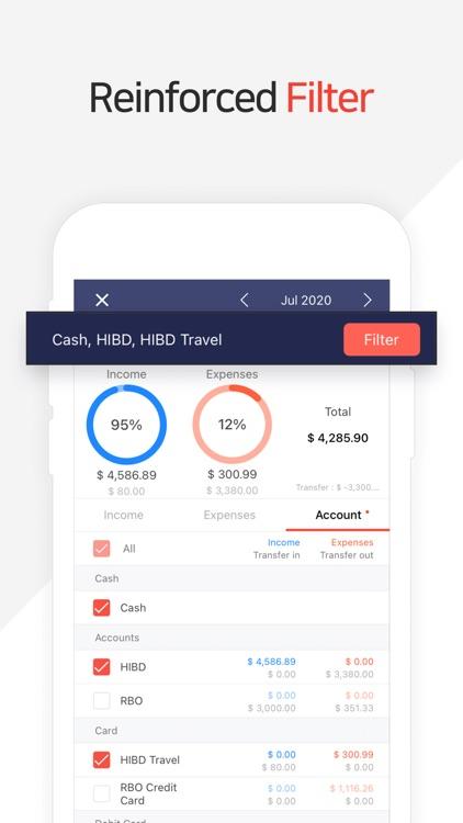 Money Manager Expense & Budget screenshot-3