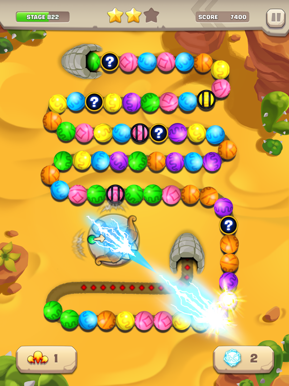 Marble Puzzle! Temple Mission screenshot 7