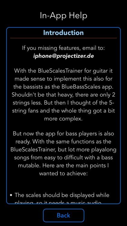 BlueBassScales screenshot-7