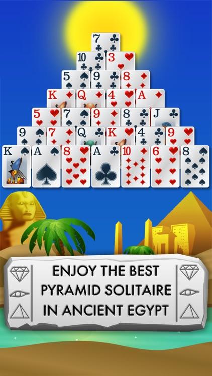 Pyramid Solitaire - Egypt screenshot-0