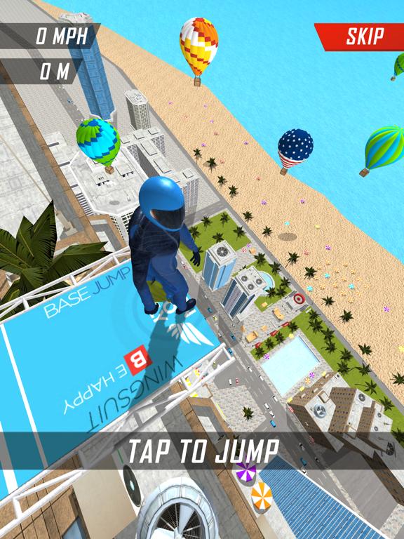 Base Jump Wing Suit Flying screenshot 6
