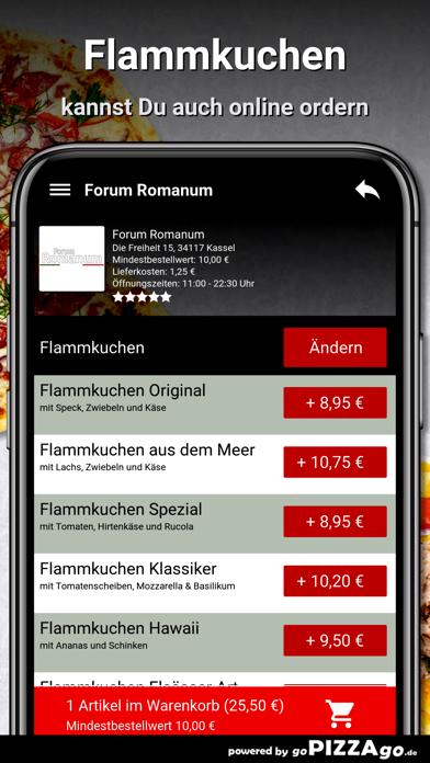 Forum Romanum Kassel Pizza screenshot 5