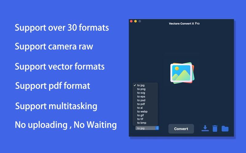Vector Converter X Pro скриншот программы 2