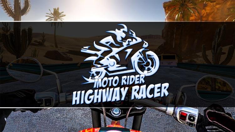 Moto Rider Highway Racer 3D