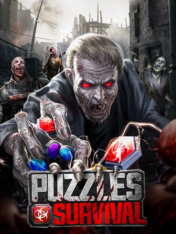 iPad Image of Puzzles & Survival