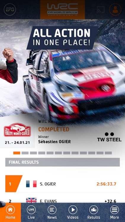 WRC - World Rally Championship screenshot-1