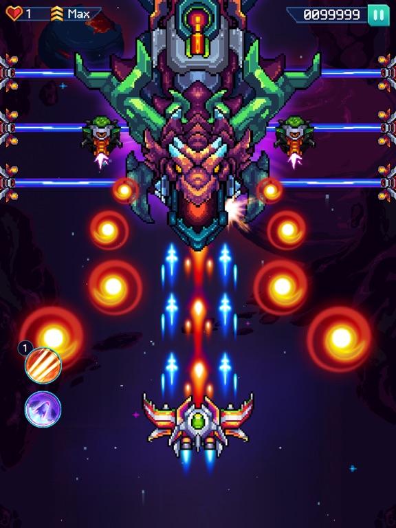 Galaxiga - Classic 80s Arcade screenshot 10