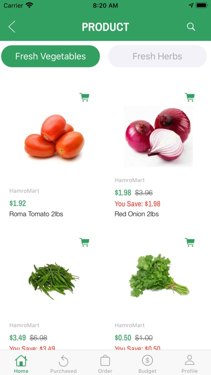 Fresh Grocery screenshot-5