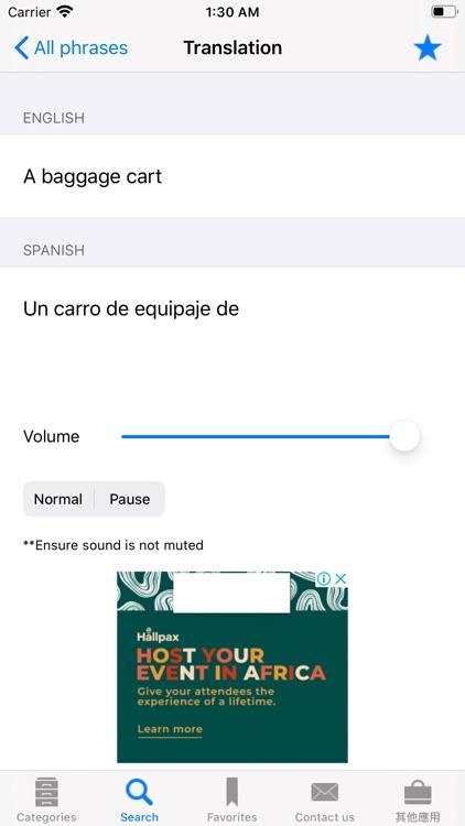 English to Spanish Phrasebook