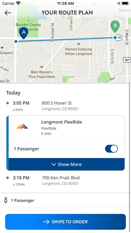 RTD Trip Planner with FlexRide