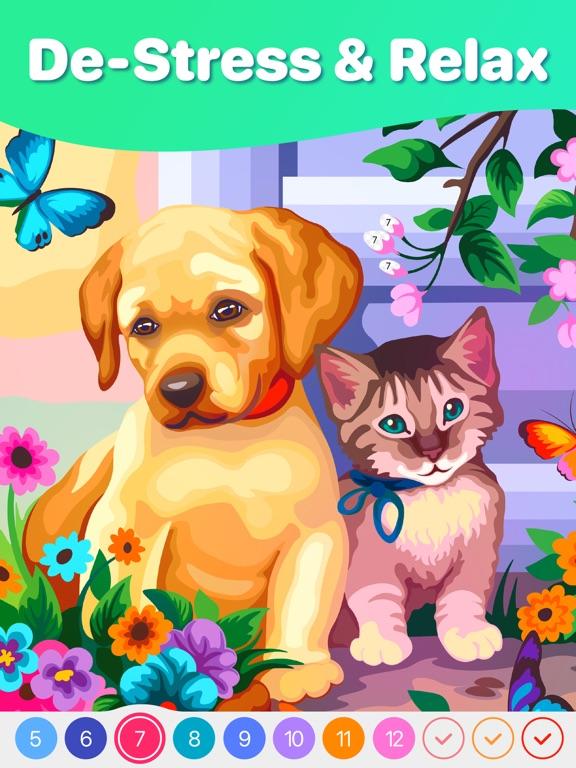 Hey Color: 数字で塗り絵, ぬりえ 大人 色塗りのおすすめ画像2