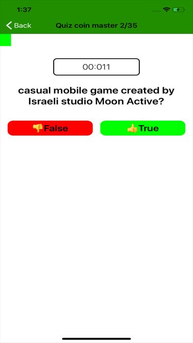 #1 Master Spins & Coins Quiz Screenshot