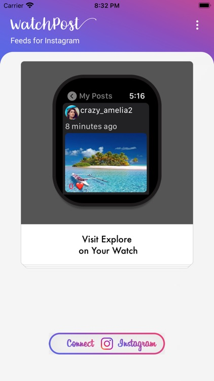 WatchPost for Instagram Feeds
