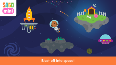 Sago Mini Space screenshot 1