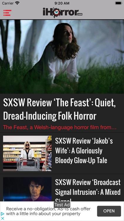 iHorror - Horror Movie News