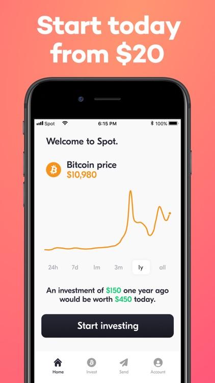 Buy Bitcoin - Spot Wallet app screenshot-3