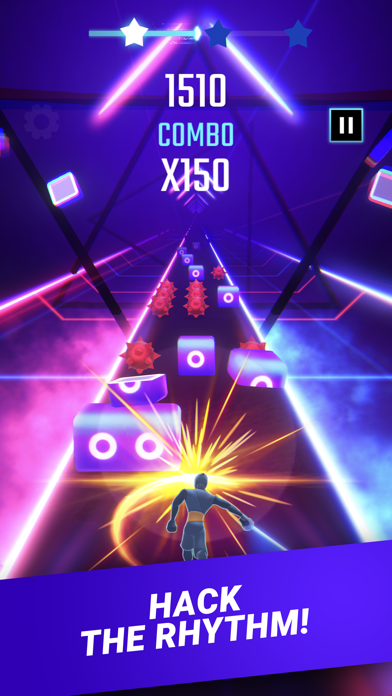 Beat Blade Warrior — Beat Rush Screenshot