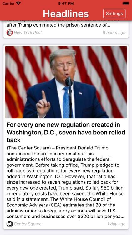 Conservative News screenshot-6