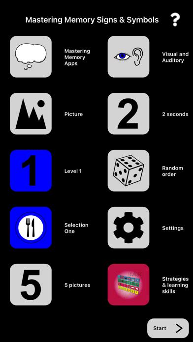 Mastering Memory Symbols screenshot 1