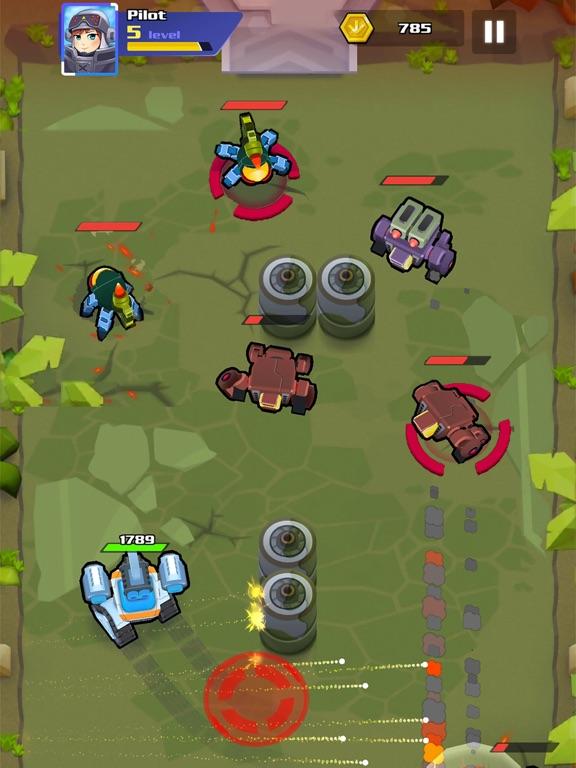 Iron Wars – Mech Battlesのおすすめ画像3