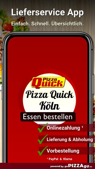 Pizza Quick Köln screenshot 1