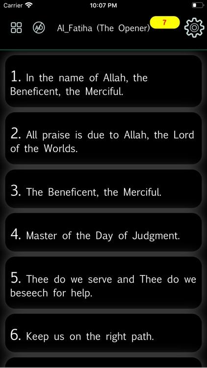 Al Quran - Read Qur'an Offline screenshot-4