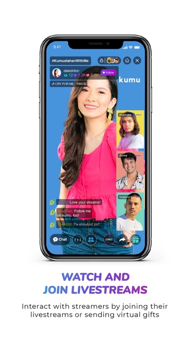 kumu - Live Videos and Games Screenshot