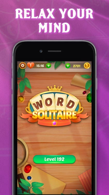 Word Card Solitaire screenshot-4