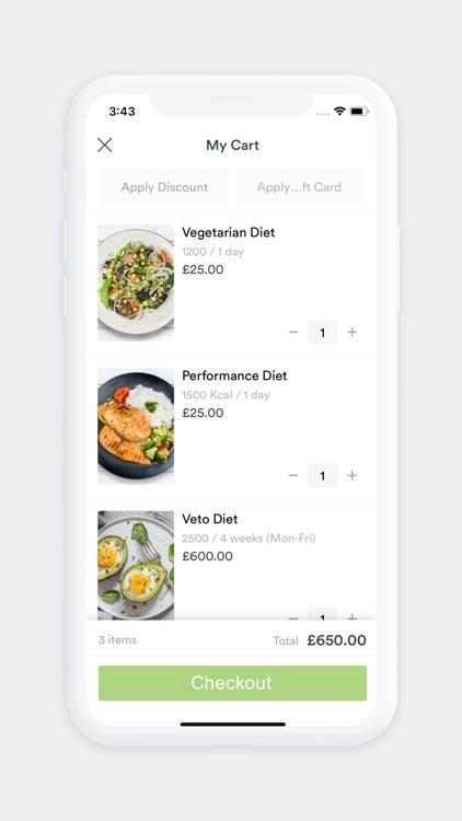 Love Yourself Meals screenshot-3