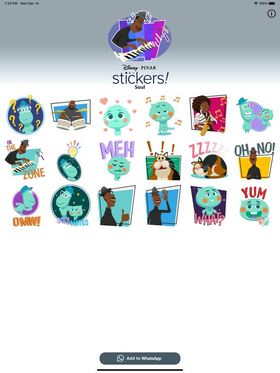 Pixar Stickers: Soul screenshot 6