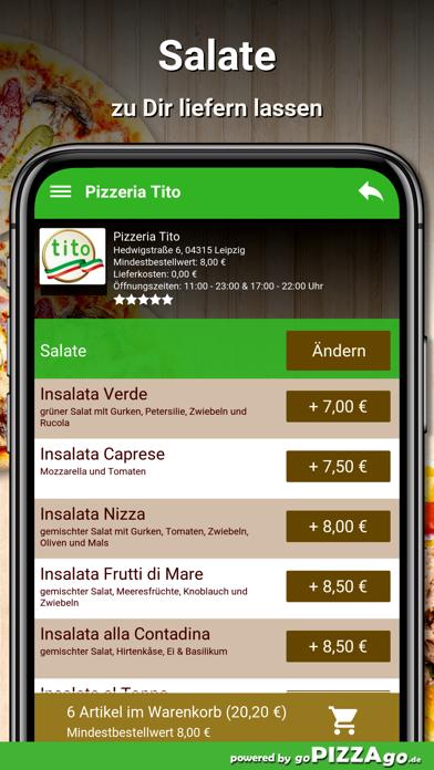 Pizzeria Tito Leipzig screenshot 5